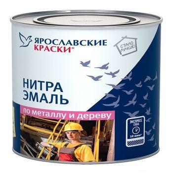 Эмаль НЦ-132К красная, банка 1,7 кг