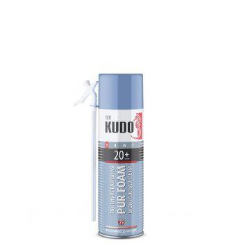 Пена полиуретановая монтажная бытовая всесезонная  KUDO HOME 20+ 650 мл